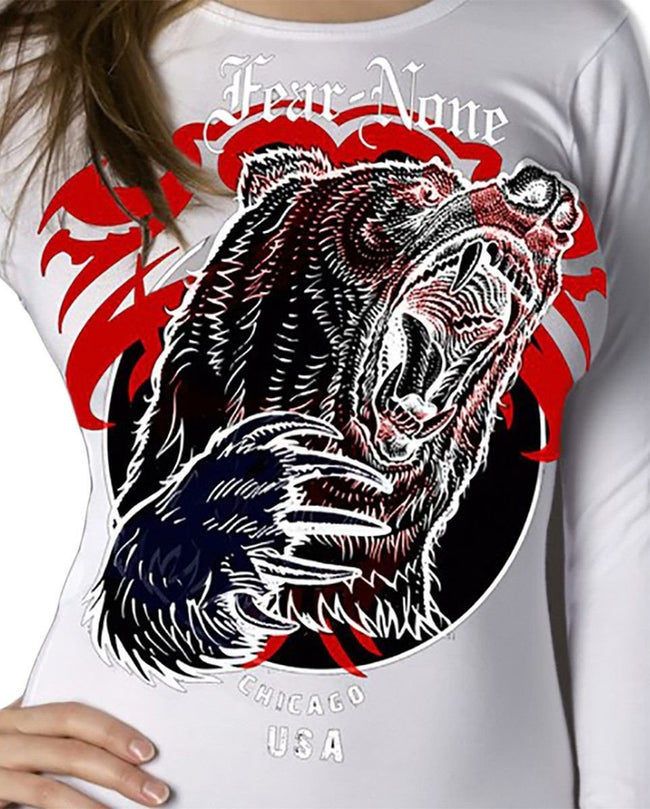 Queen Bear Logo Wrap Around