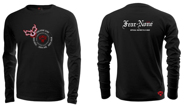 Mens Red Skull Rider SE Long Sleeve