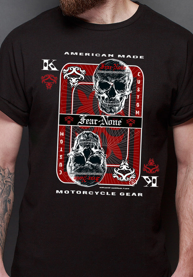 "Men's Short Sleeve ""High Card"" Rider Shirt"