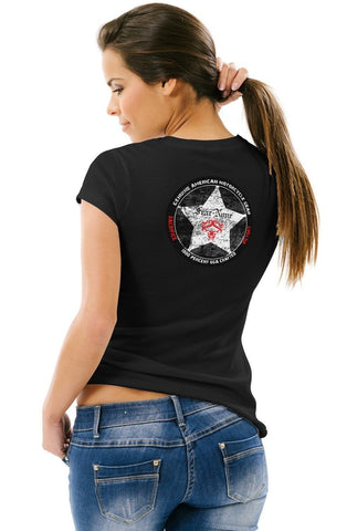 Women's Sheriff Star Short Sleeve Rider