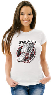 Women's King Bear White Tee