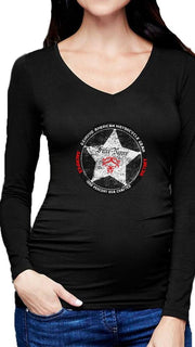 Sheriff's Star Rider V Neck Shirt