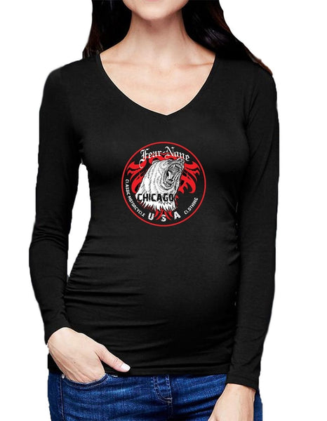 Women's American Legendary Rider V Neck Shirt