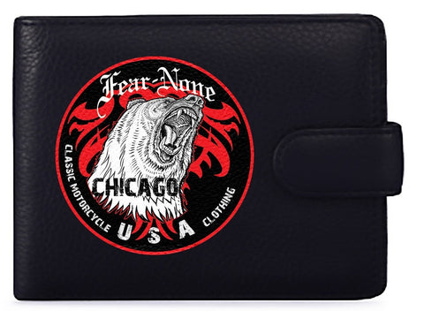 Official BEAR-CIRCLE Biker Wallet