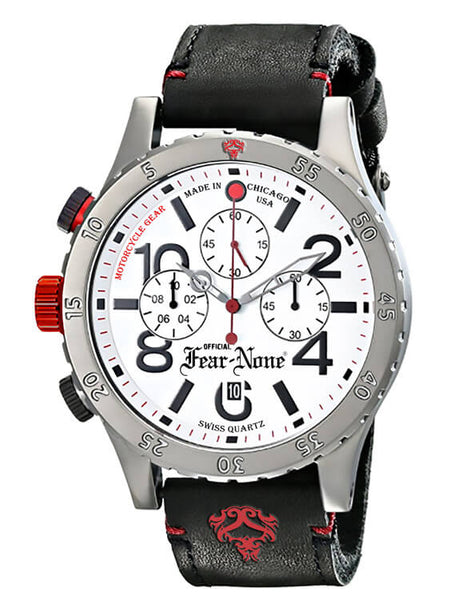 "Official FEAR-NONE ""Old School Pure Logo"" Rider Chrono"