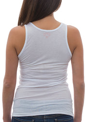 Women's Star Lightning Rider White Tank