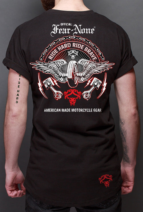 Men's Winged Highway Back Rider Shirt