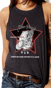 Women's Black Star Rider Tank