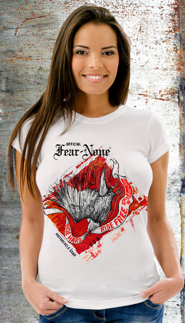 Women's Screaming Eagle Flame Rider (Short Sleeve)