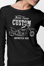 Womens Classic Outlaw Custom Rider Shirt