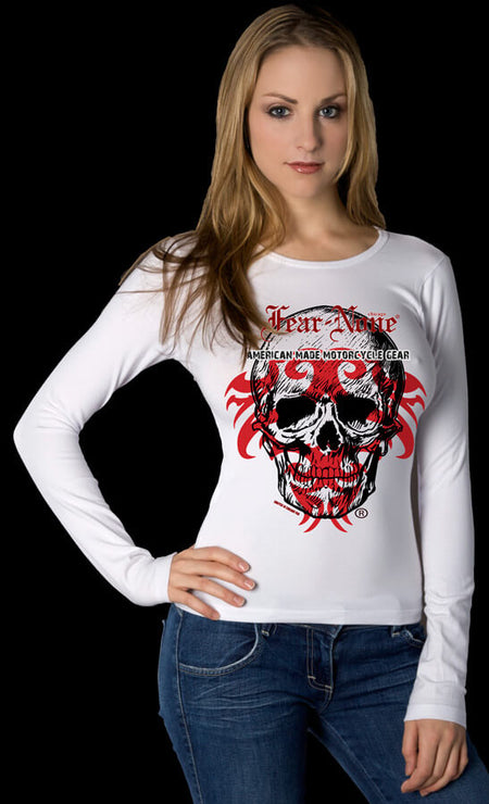 "Women's ""Bear"" Rider Baseball T Shirt"