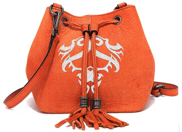 "Official FEAR-NONE Womens ""Meghan's Rider"" Bag (Orange)"