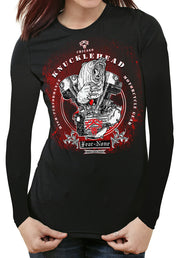 Womens Classic KNUCKLEHEAD Rider Shirt SE