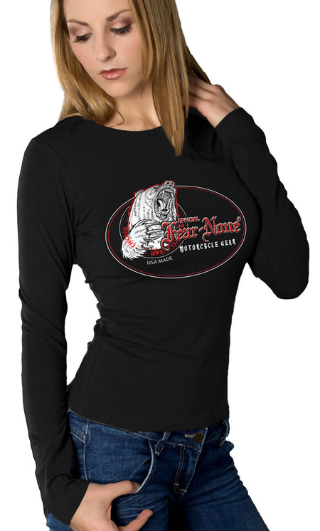 "Womens American ""Custom Old Bike"" Hoodie"