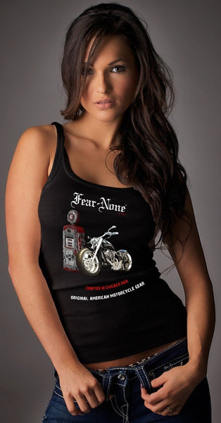 Womens American Gas Pump Rider Tank