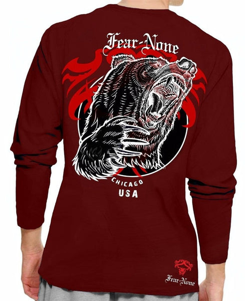 Double King Bear Rider Long Sleeve