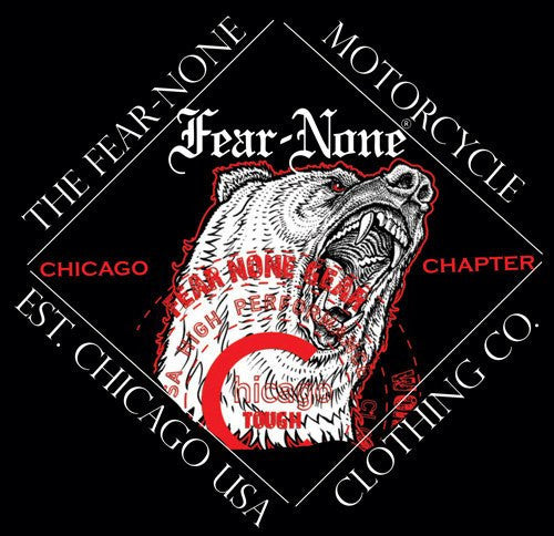 FEAR-NONE Gear's Chicago BEAR Hex Rider Shirt