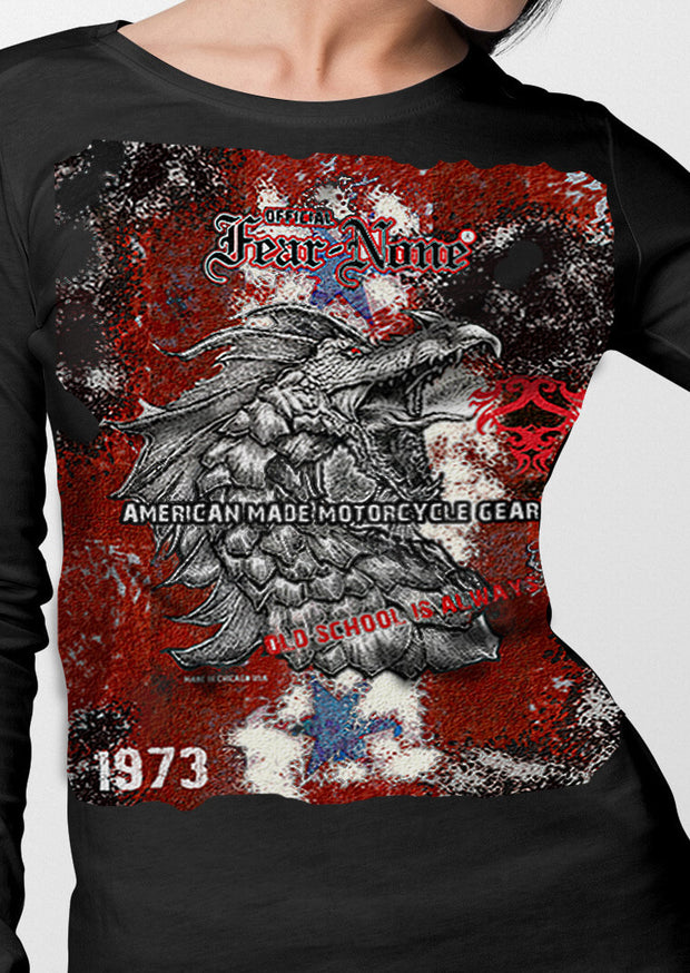 Womens BIG 1973 Red Serpent Rider Shirt