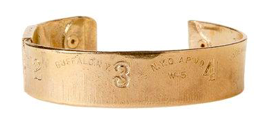 Brass Ruler Bracelet