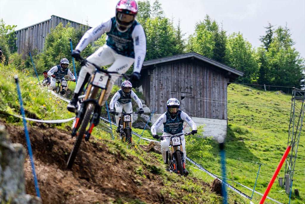 Commencal Muc-off team riding Leogang World Cup 2021