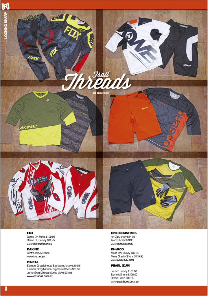 revolution trail threads dharco