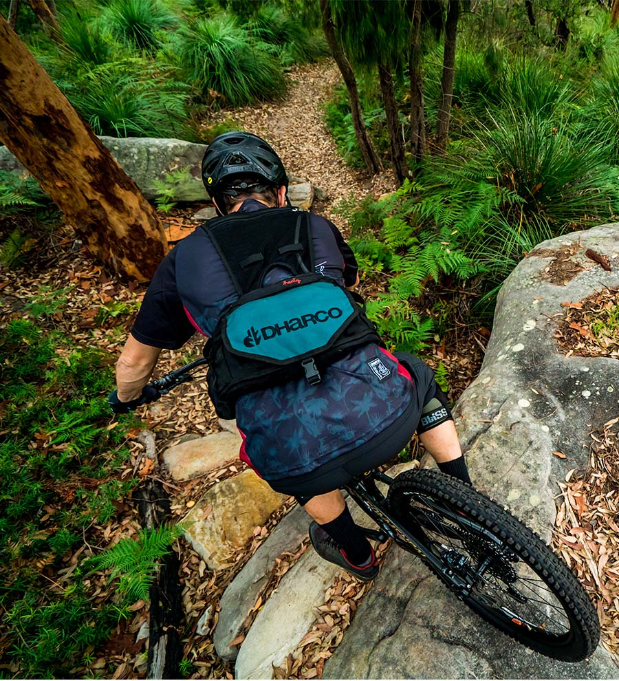 with 3L Bladder Camo Henty Enduro Backpack