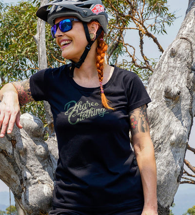 Ladies Tech Tee | Black Forest