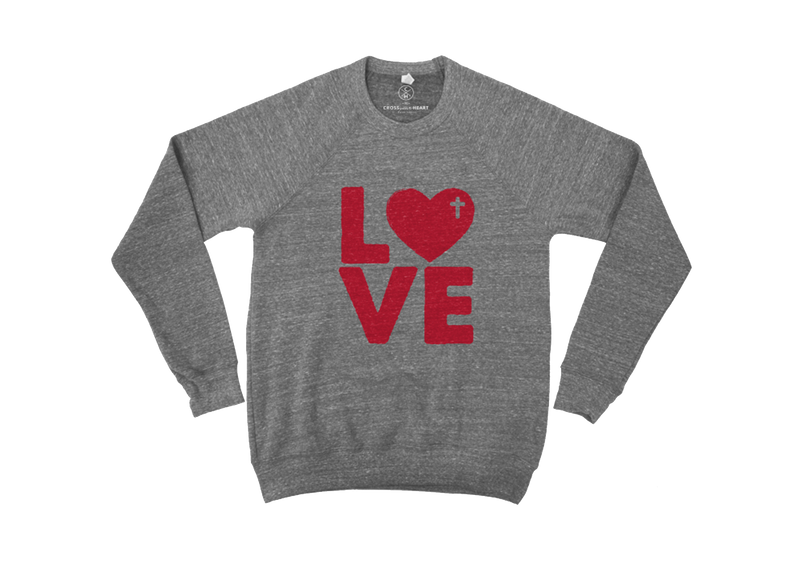 Love Pullover Unisex sizing Material   50% poly 37.5% combed and ring-sp...
