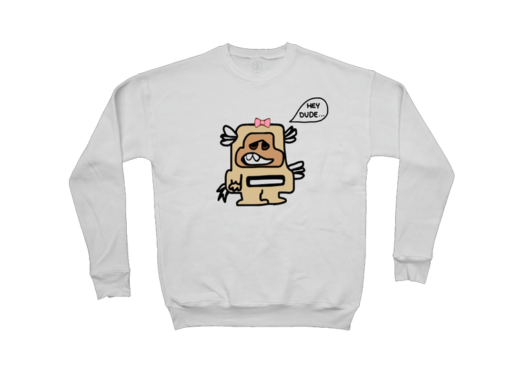 Hey Dude Monster Pullover