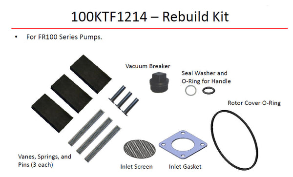 Fill-Rite Series 100 Repair Kit