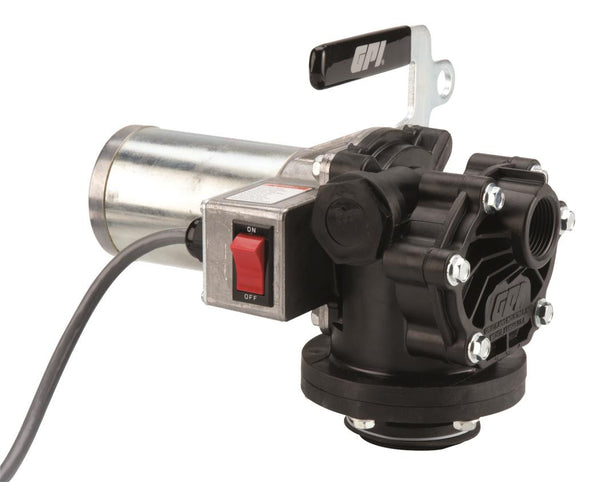 GPI P-120, 12 Volt DC, 12 GPM, Nozzle and Hose excluded