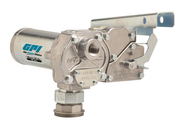GPI M-150, 12 Volt, DC 15 GPM, Nozzle and Hose excluded