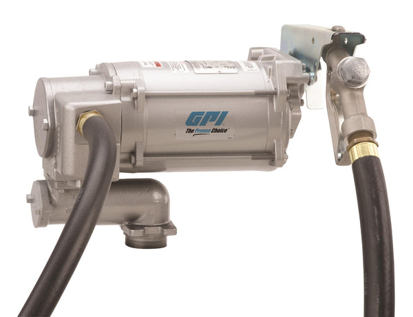 "GPI M-3130, 115/230 Volt AC, 30 GPM, Manual Unleaded, 1"" x 12'-0"""