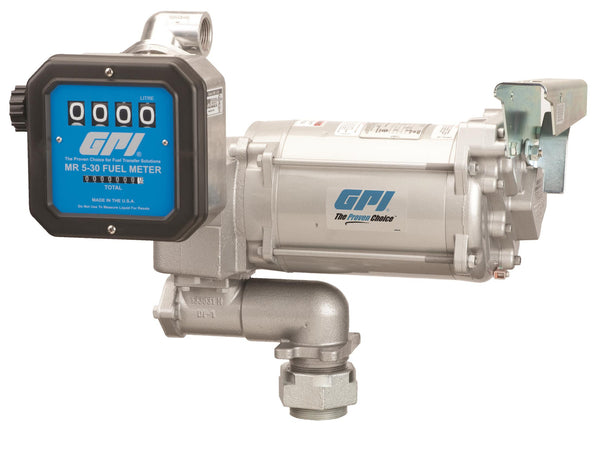 GPI M-3130 / MR 5, 115/230 Volt AC, 30 LPM, Nozzle and Hose excluded