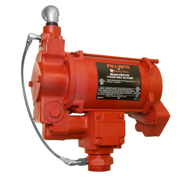 Series 300 3/4 HP Remote Utility Pump for Diesel, 35 GPM