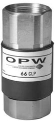OPW 66CLP - Reconnectable, Vapor-Poppeted Balance Breakaway