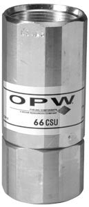 OPW 66CSU - Single Use, Non-Poppeted Balance Stage II Breakaway