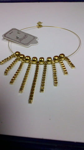 Gold/Silver Chain Set