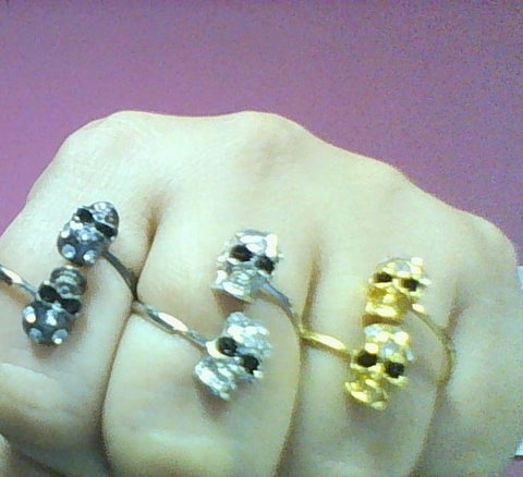 Skull Adjustable Rings