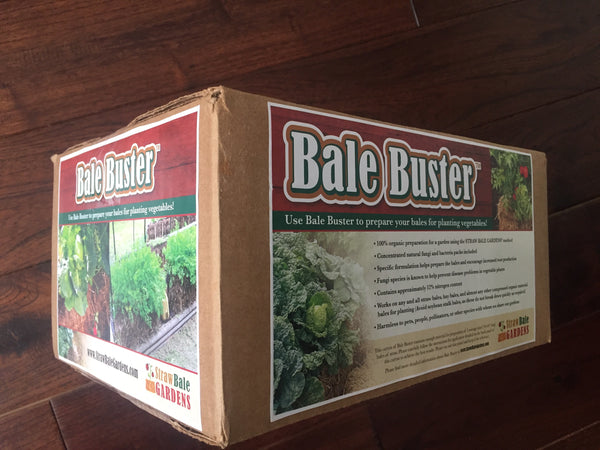 BaleBuster - FIVE Bale Box with 100% ORGANIC formulation