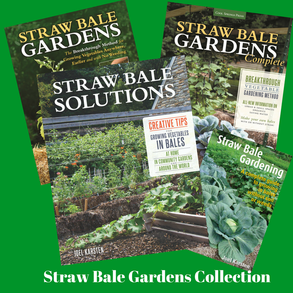 Straw Bale Gardens Collection of all Four Books