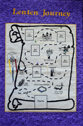Lenten Journey Map