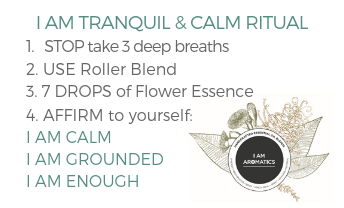 I Am Tranquil & Calm Flower Essence - 30ml