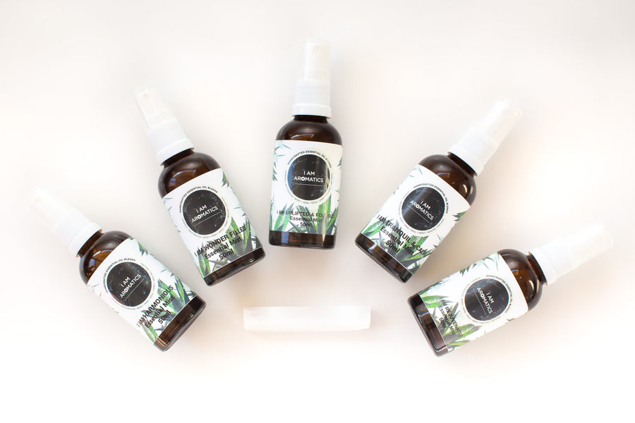 Essential Oil Mists - Set of 5