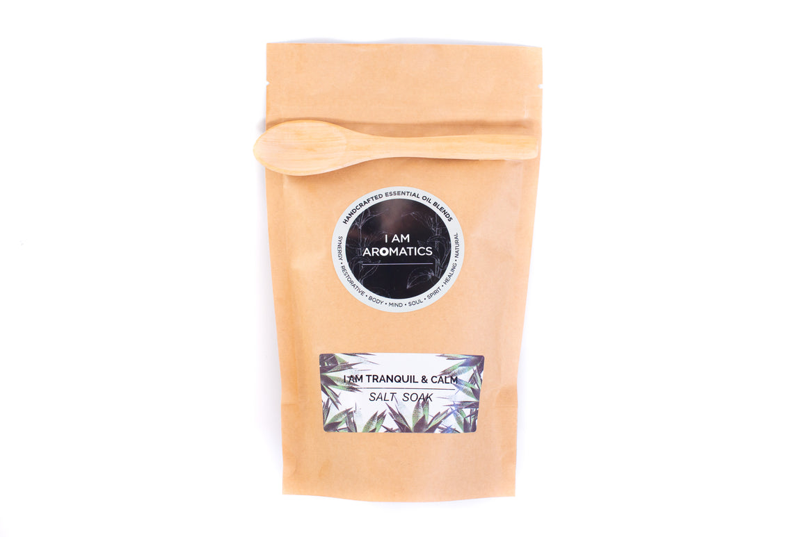 I Am Tranquil & Calm Salt Soak 300gm