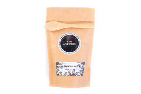 I Am Tranquil & Calm - 300gm Salt Soak