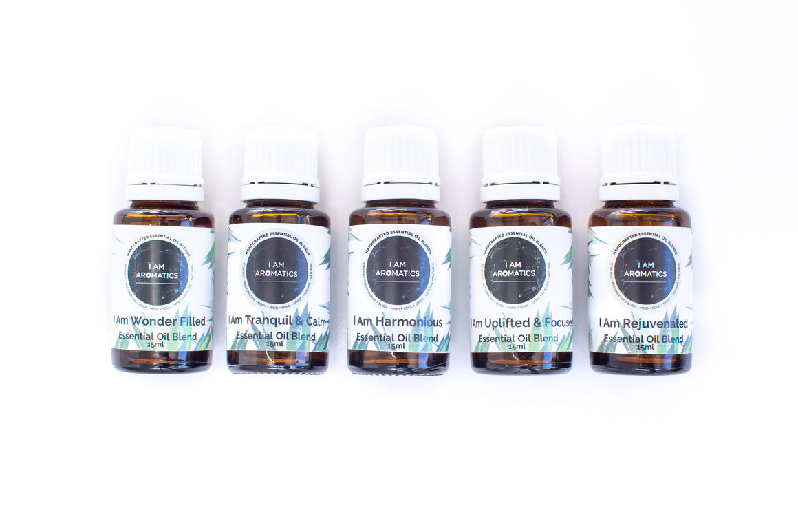 Essential Oil Blends set of five