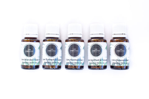 Essential Oil Blends - Set of five