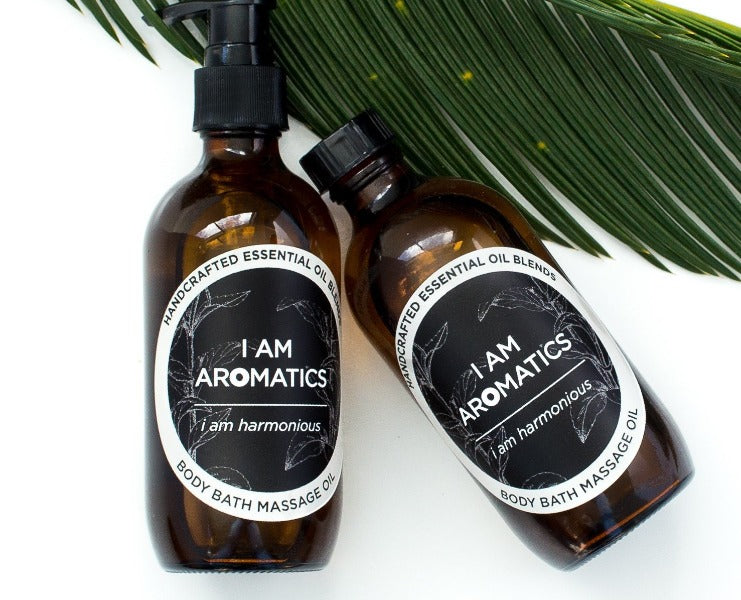 I Am Harmonious - Body & Bath  Oil 200ml - I Am Aromatics