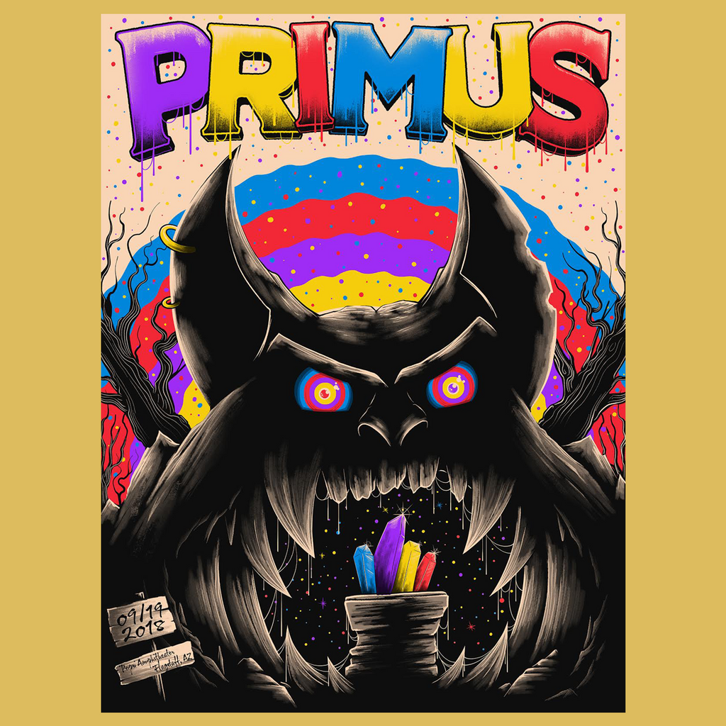 Primus - September 19, 2018 Flagstaff, AZ Poster